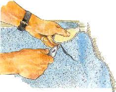 Как правильно уложить линолеум