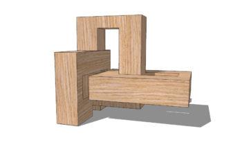 Делаем деревянный узел