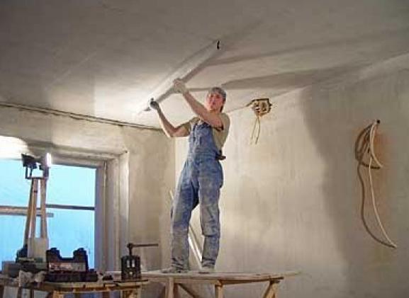 Выравнивание потолков своими руками