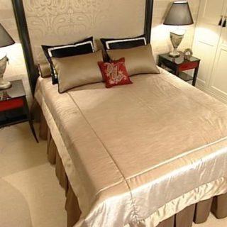 Как удачно переделать спальню