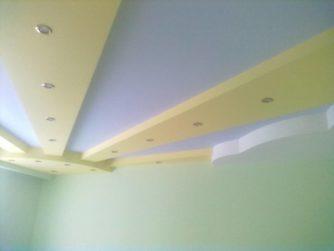 Солнечное небо на потолке в детской