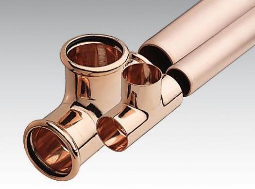 Медные трубы для водопроводов