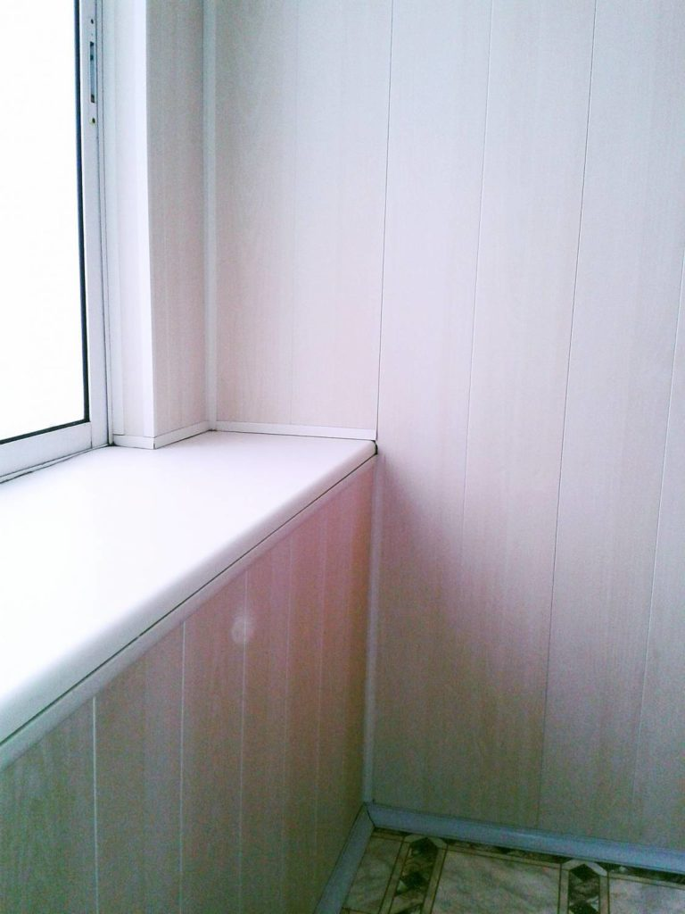 Переделка лоджии в квартире