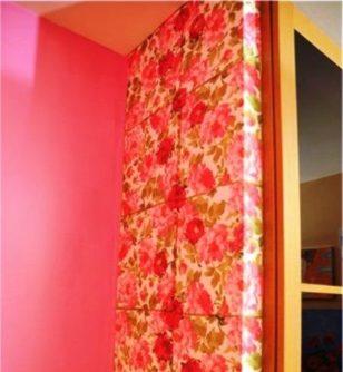 Декупаж стен - отличное дизайнерское решение!