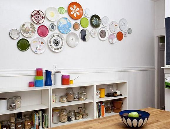 Декор стены на кухне своими руками