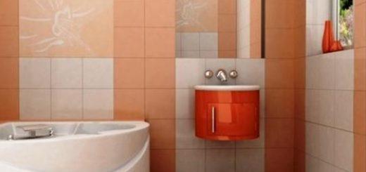 Персиковый цвет в оформлении дизайна комнаты