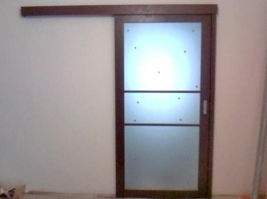 Установка раздвижных дверей самостоятельно