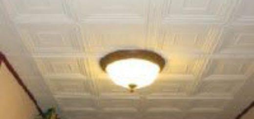 Преимущество клеевых потолков