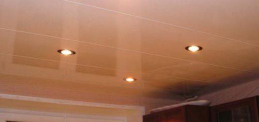 Кратко о потолке из пластика