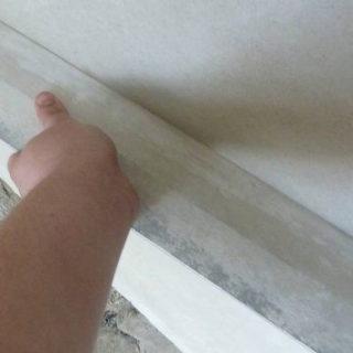 Шпаклёвка стен под обои. Этап 1