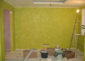 Покраска стен в доме