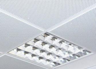 Натяжной потолок с перфорацией: специфика и монтаж