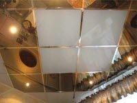 Установка кассетных потолков