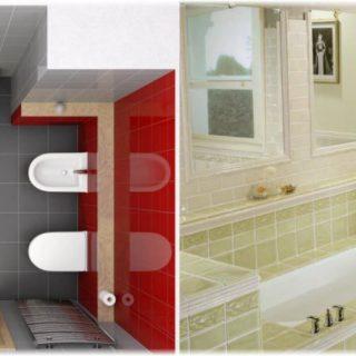 Дизайн и планировка ванной комнаты