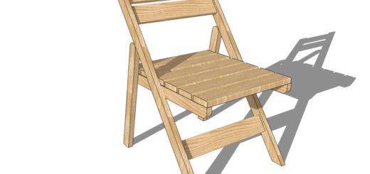 Изготовление складного стула своими руками: чертеж и порядок сборки