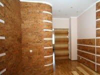 Технология установки пробкового покрытия на стену: часть 2