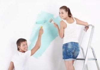 Подготовка стен дома под покраску