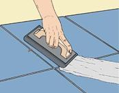 Затирка швов напольной плитки: пошаговая инструкция