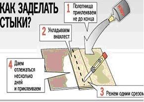 Укладка ковролина: способы и рекомендации