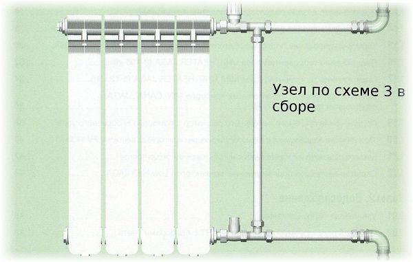 Как правильно подключить радиатор отопления
