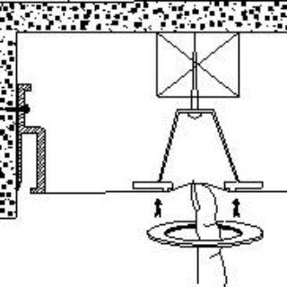 Установка натяжного потолка 5. Монтаж точечных светильников