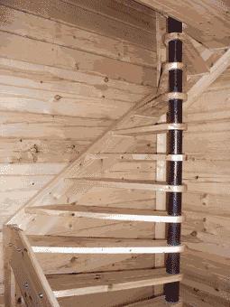 Построить винтовую лестницу на второй этаж своими руками