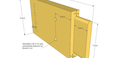 Изготовление разборного стола своими руками: чертеж и схема сборки