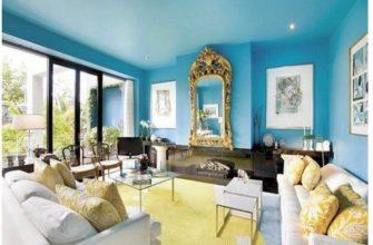 Как правильно покрасить уже побелённый потолок