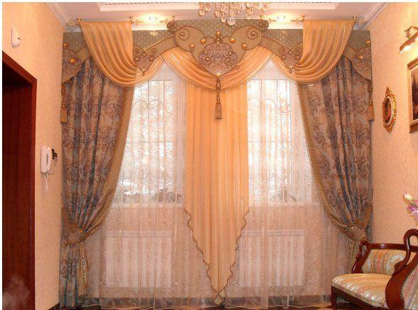 Как можно самой сшить красивые шторы