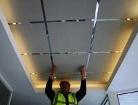 Уход за подвесным потолком