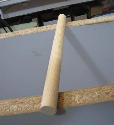 Как сделать скалку для теста с помощью фрезера