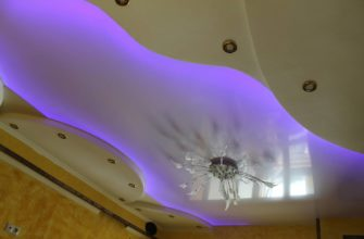 Двухуровневый потолок легко и просто