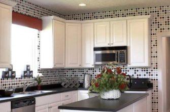 Выбор цвета обоев на кухню