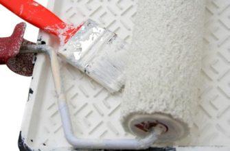 Типичные ошибки при покраске потолка