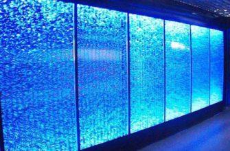 Водно-пузырьковые панели