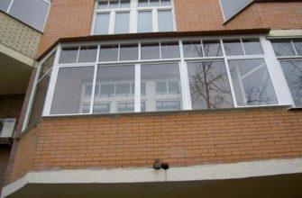 Способы застекления балкона и лоджии