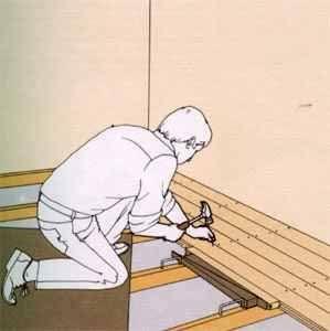 Укладка деревянного пола своими руками