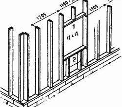 Монтаж стен каркасного дома