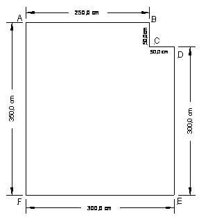 Установка натяжного потолка 2: снятие замеров