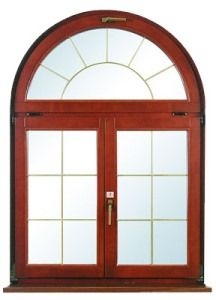 Деревянные окна: виды материалов
