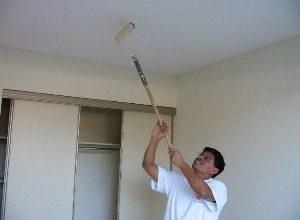 Что нужно знать о покраске потолка