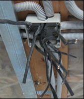 Порядок соединения проводов в распределительной коробке