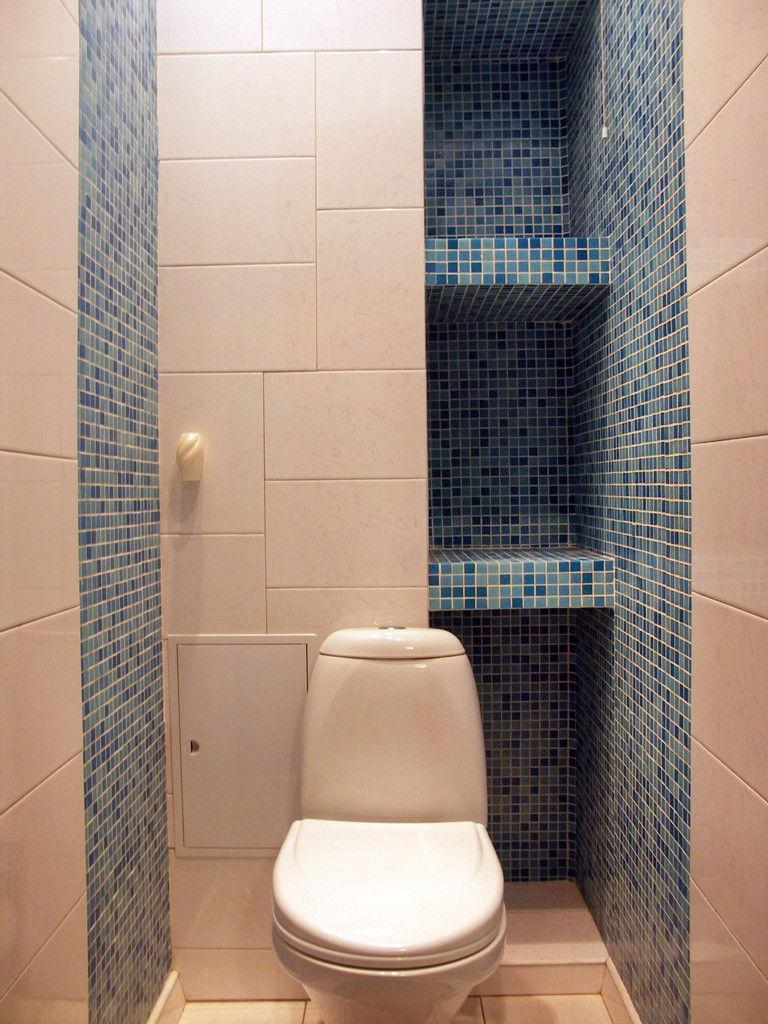 Как сделать полочки в туалете фото 817