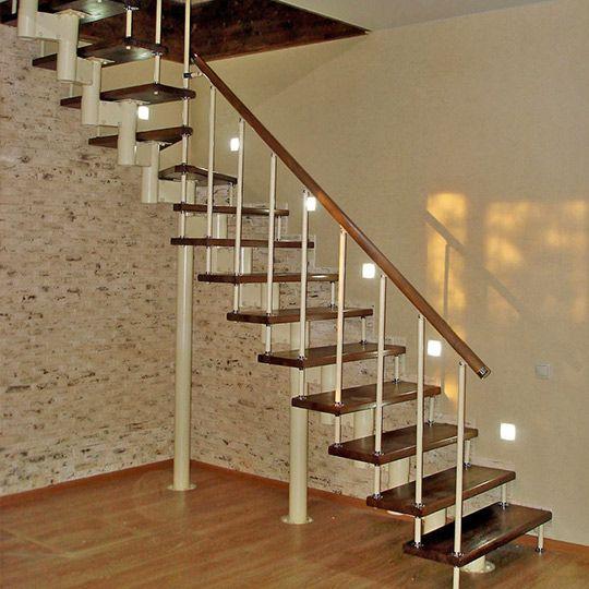 Модульные лестницы: описание, виды и советы по сборке