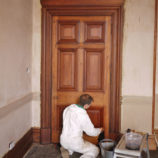 Реставрация межкомнатных дверей из массива