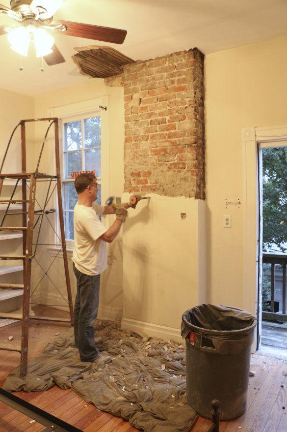 Как удалить старую штукатурку с поверхности стены | Мастремонт.ру