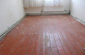 деревянный пол скрипит