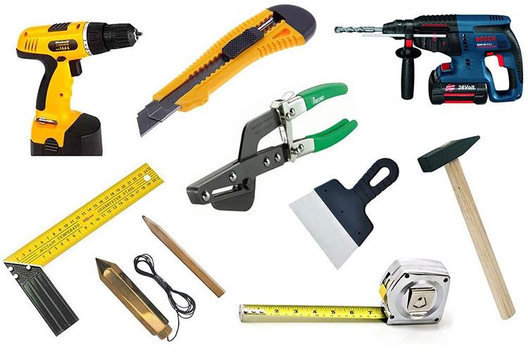 Облицовка окон сайдингом- необходимые инструменты