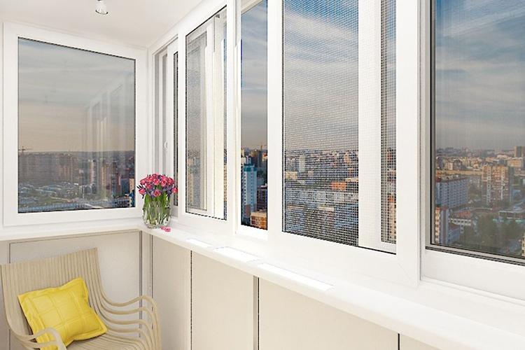 Раздвижные системы для лоджий и балконов